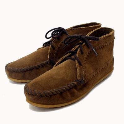 sale セール MINNETONKA(ミネトンカ) Suede Ankle Boots(スエードアンクルブーツ)#273 DUSTY BROWN SUEDE レディース MT220