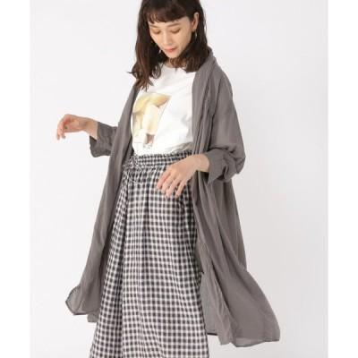 アウター ボイルローブ羽織りコート