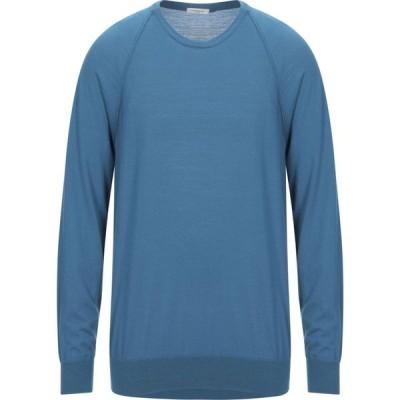 パオロ ペコラ PAOLO PECORA メンズ ニット・セーター トップス Sweater Deep jade