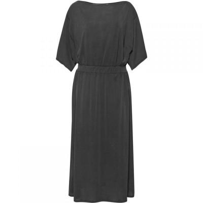 グレート プレインス Great Plains レディース パーティードレス ワンピース・ドレス kimmy jersey elasticated waist dress Granite