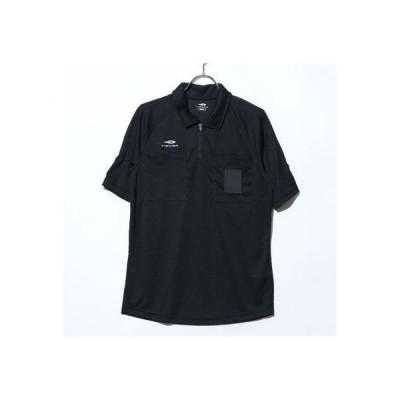 ティゴラ TIGORA メンズ サッカー/フットサル レフェリーシャツ TR-8SW1740RFHS (ブラック)