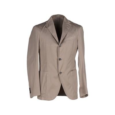 ボリオリ BOGLIOLI テーラードジャケット グレー 56 コットン 100% テーラードジャケット
