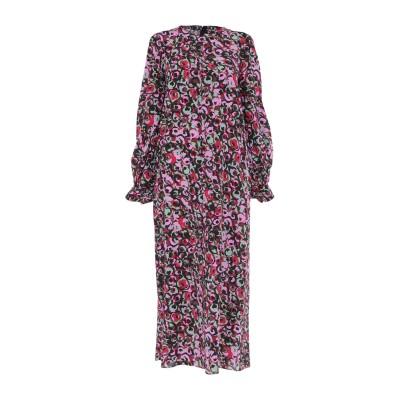 マルニ MARNI ロングワンピース&ドレス ライトグリーン 38 シルク 100% ロングワンピース&ドレス