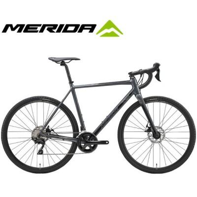 (選べる特典付)ロードバイク 2020 MERIDA メリダ MISSION CX 400 ミッションCX400 グロッシーダークグレー(ブラック)【ES71】 SHIMANO105 シクロクロス グラベル