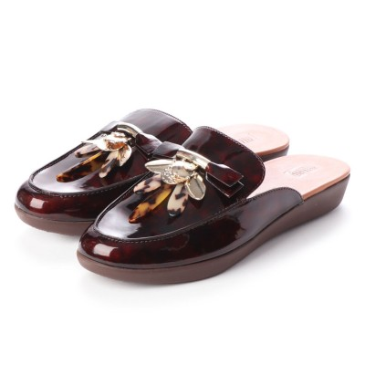 フィットフロップ fitflop SERENE DRAGONFLY (Chocolate Brown Turtle)