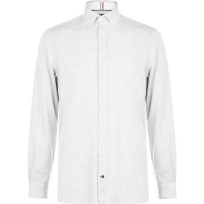 トミー ヒルフィガー Tommy Hilfiger メンズ シャツ トップス Wash Shirt Grey PM