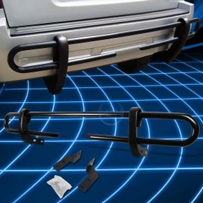 グリルトヨタ4Runner / GXのためのブラックコーティングされたダブルパイプバーリアバンパーガード
