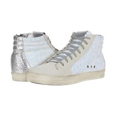 P448 レディース 女性用 シューズ 靴 スニーカー 運動靴 Skate - White Glitter