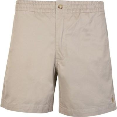 ラルフ ローレン POLO RALPH LAUREN メンズ ショートパンツ ボトムス・パンツ Flat Logo Shorts Khaki Tan