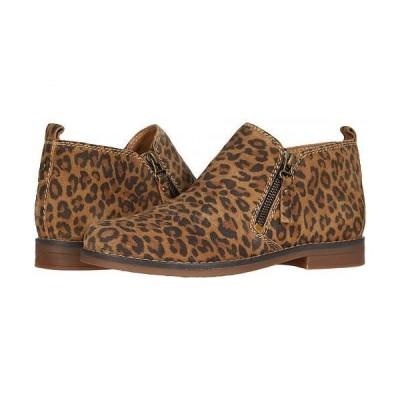 Hush Puppies ハッシュパピーズ レディース 女性用 シューズ 靴 ブーツ アンクル ショートブーツ Mazin Cayto - Leopard Suede