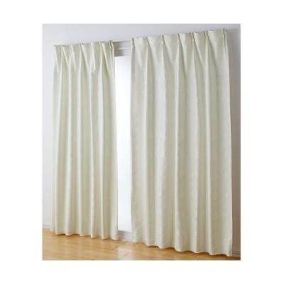 【1cm単位オーダー】ドット柄ジャガード織遮熱・防音・1級遮光カーテン(1枚) ドレープカーテン(遮光あり・なし) Curtains, blackout curtains, thermal curtains, Drape(ニッセン、nissen)