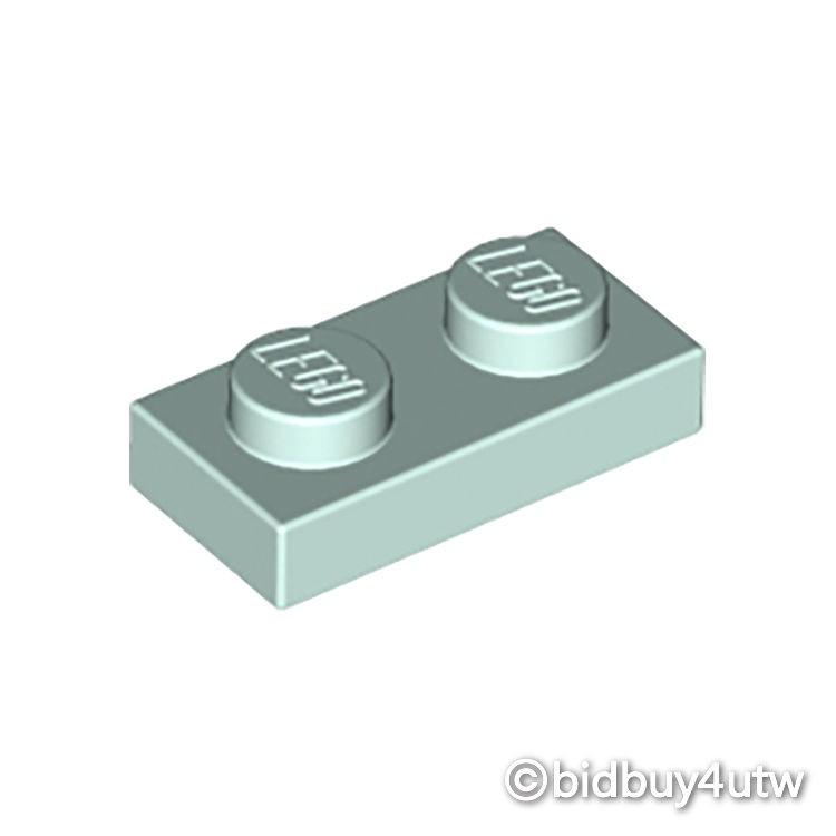 LEGO零件 薄板磚 1x2 3023 亮水藍色 6146701【必買站】樂高零件