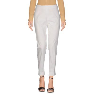 PESERICO SIGN パンツ ホワイト 42 コットン 98% / ポリウレタン 2% パンツ