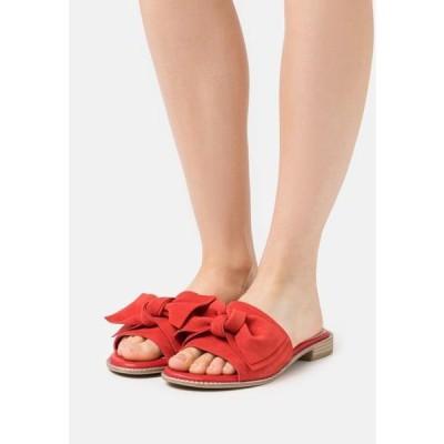 マルコトッツイ レディース 靴 シューズ BY GUIDO MARIA KRETSCHMER - Mules - red