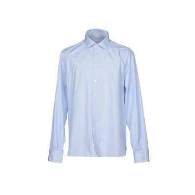 BRANCACCIO シャツ スカイブルー 39 コットン 100% シャツ
