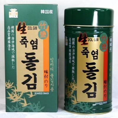 ★お中元★竹塩 岩海苔180枚 (1缶入) ★韓国食材*韓国のり★