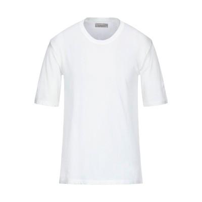 ラネウス LANEUS T シャツ ホワイト M コットン 96% / ナイロン 4% T シャツ