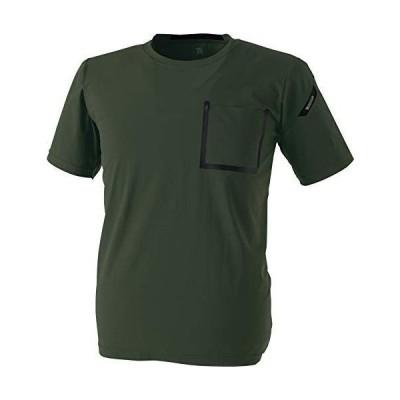 TS DESIGN TS DELTA ワークTシャツ 8355 55 アーミーグリーン 6L