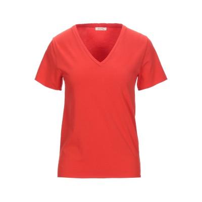 アメリカン ヴィンテージ AMERICAN VINTAGE T シャツ レッド S コットン 96% / ポリウレタン 4% T シャツ