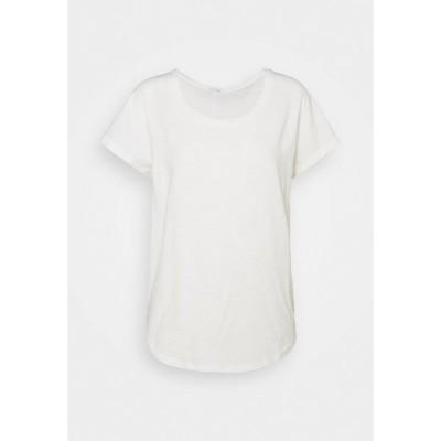 トゥルーレリジョン Tシャツ レディース トップス CREW RELAX - Basic T-shirt - blanc