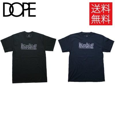 """ドープ DOPE """"DOPE Boyz"""" Tシャツ ブラック ネイビー 黒 紺 半袖 TEE Black Navy"""