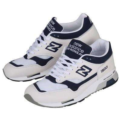 New Balance ニューバランス スニーカー M1500WWN メンズ スニーカー 靴 ホワイト 白 ネイビー 紺 メッシュ ロゴ 30周年 アニバーサリーモデル MADE IN ENGLA