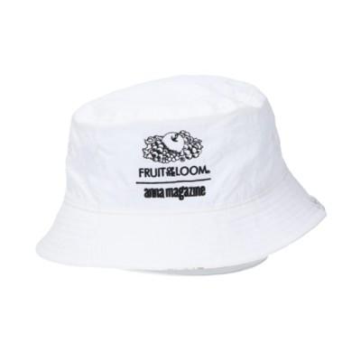 rinto / 【FRUIT OF THE LOOM/フルーツオブザルーム】 FTL x ANNA REVERSIBLE BUCKET HAT/アンナマガジンコラボリバーシブルハット WOMEN 帽子 > ハット
