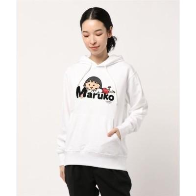 パーカー 【Maruko World】CHOCOOLATE まる子 フェルト フードパーカー