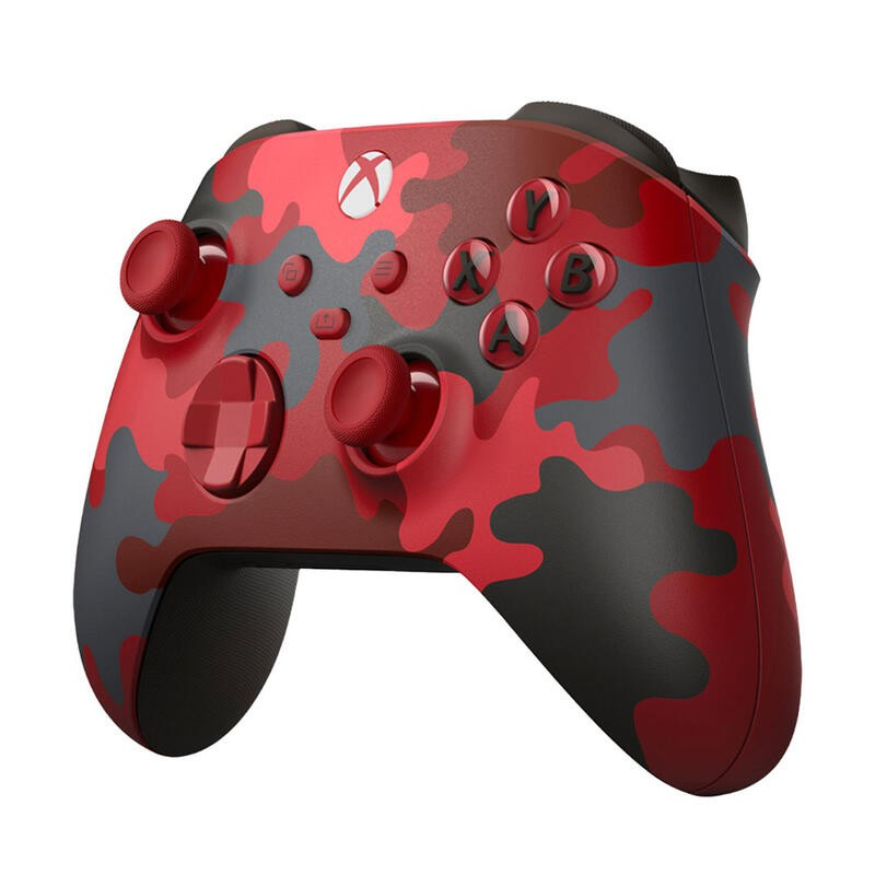 Xbox Series 無線藍芽控制器 特別款 赤焰行動 + Xbox S/X 同步充電組 + XBOX ONE 接收器