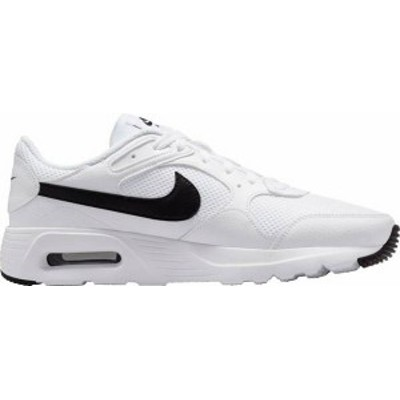 ナイキ メンズ スニーカー シューズ Nike Men's Air Max SC Shoes White/Black/White