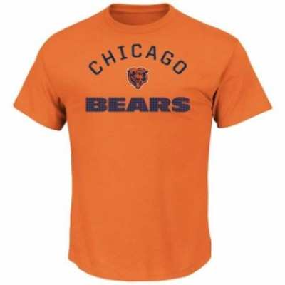 Majestic マジェスティック スポーツ用品  Majestic Chicago Bears Orange For All Time T-Shirt