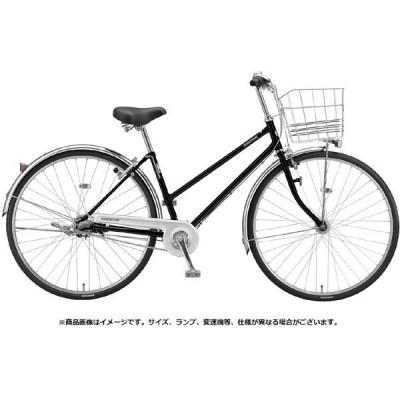 送料無料 ブリヂストン シティサイクル自転車 ロングティーン 変速なしモデル L60ST1 P.Xクリスタルブラック
