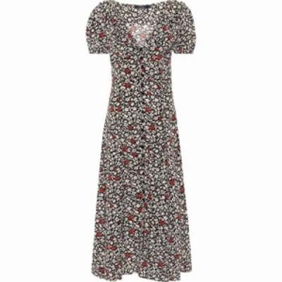 ラルフ ローレン Polo Ralph Lauren レディース ワンピース ミドル丈 ワンピース・ドレス Floral crepe midi dress