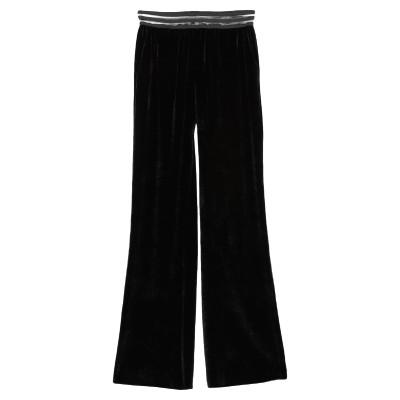 MENAH パンツ ブラック XS レーヨン 82% / シルク 18% パンツ