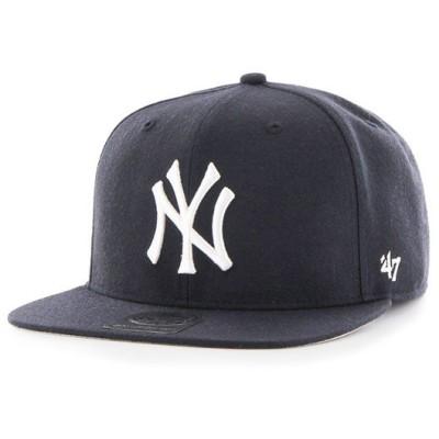 '47 Brand(フォーティーセブン)ニューヨークヤンキース キャップ 帽子 スナップバックハット Yankees Sure Shot '47 CAPTAIN Navy MLB メジャーリーグ