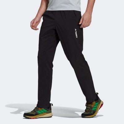 アディダス adidas テレックス ライトフレックス ハイキングパンツ / Terrex Liteflex Hiking Pants (ブラック)