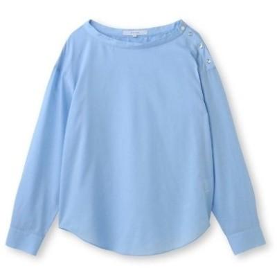 UNTITLED(アンタイトル)肩ボタンスヴィンコットンシャツ