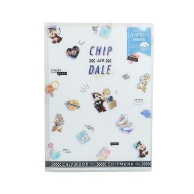 ファイル ハードカバー 6ポケット A4 クリアファイル ディズニー チップ&デール 2020年新入学 カミオジャパン 新学期準備雑貨 文具 かわいい
