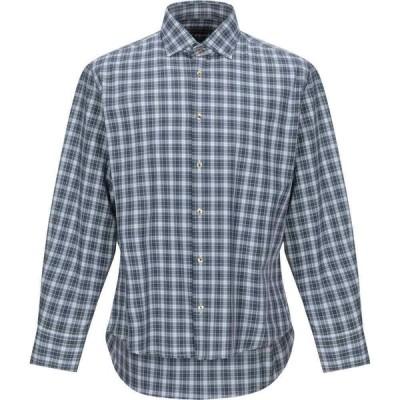 イングラム INGRAM メンズ シャツ トップス Checked Shirt Dark blue