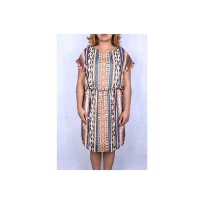 LUXOLOGY ドレス ワンピース フォーマル Luxology マルチ Polyester プリント Geometric ドレス S 69100%オーセンティック LAFO