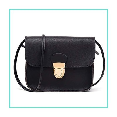 【新品】AMHDV Small Crossbody Bags for Women and Girl (S2-black)(並行輸入品)