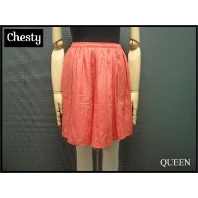 Chesty 可愛いふんわり スカート・0△チェスティ/ピンク系¨