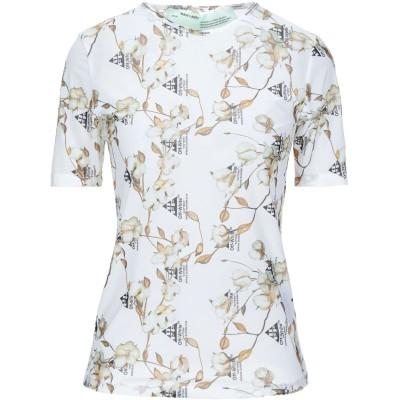 OFF-WHITE™ T シャツ ホワイト 36 ナイロン 80% / ポリウレタン 20% T シャツ