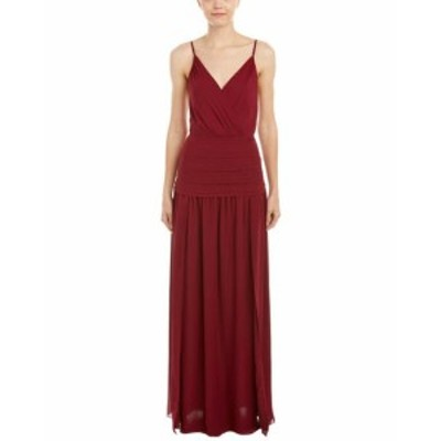 Haute Hippie オートヒッピー ファッション ドレス Haute Hippie Pleated Silk Gown M Red