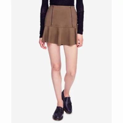 フリーピープル ミニスカート Highlands Mini Skirt Army