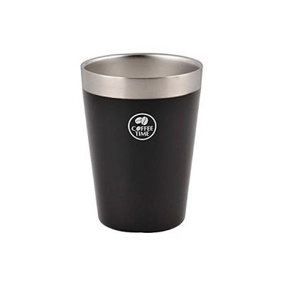 パール金属 真空アイスコンビニカップ<ラージ> ブラック HB-1896