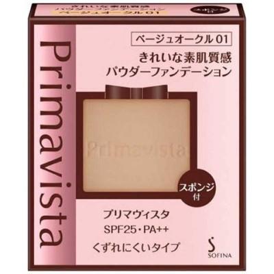 花王 Primavista(プリマヴィスタ) きれいな素肌質感パウダーファンデーション ベージュオークル01