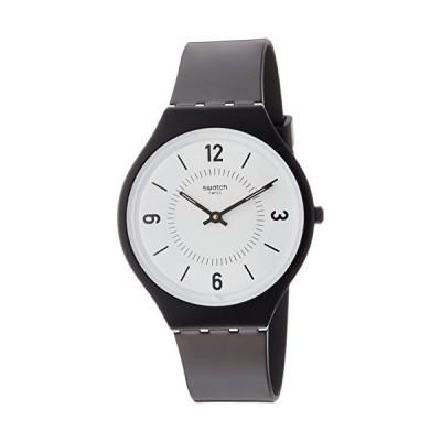 腕時計 スウォッチ メンズ SVOB101 Swatch Women's Analogue Quartz Watch with Plastic Strap SVOB101