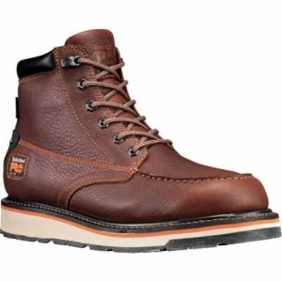 ティンバーランド Timberland PRO メンズ ブーツ シューズ・靴 Gridworks 6 Moc Toe Soft Toe Waterproof Boot Brown Tempest Rancher Le