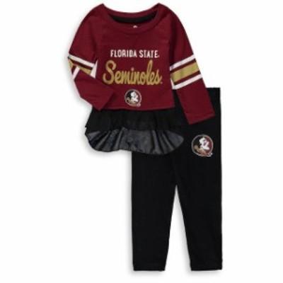 Outerstuff アウタースタッフ スポーツ用品  Florida State Seminoles Girls Infant Garnet/Black Mini Formation Long Sl